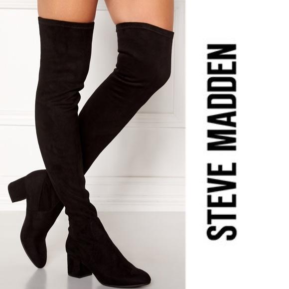 "bd67247da6d 🆕Steve Madden ""Isaac"" Over-the-knee Boots. M 5aebcff5fcdc31d98073cb60"